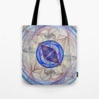 Retina Nebula I Tote Bag