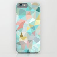 pastel iPhone & iPod Cases featuring Pastel Tris by Beth Thompson