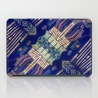 Lighted City Structures iPad Case