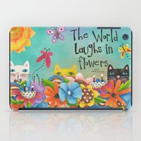 The World Laughs In Flow… iPad Case