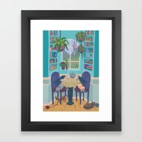 Cozy Nook Framed Art Print