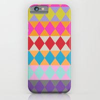 iPhone & iPod Case featuring Harlequin pattern by chulabird