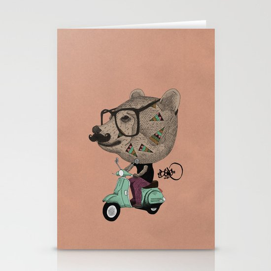 Vesbear Stationery Card