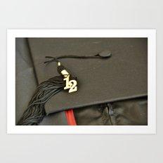 Graduation - Class of 2012 Art Print