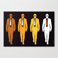 Fourmen Canvas Print