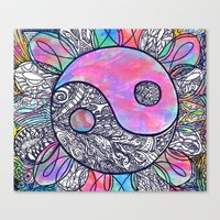 The Ying and the Yang Canvas Print