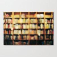 Book Bokeh Canvas Print