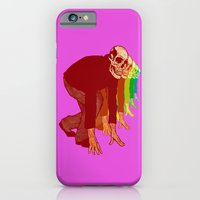 The Racing Rainbow Skull… iPhone 6 Slim Case