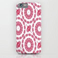 Ruby Mandala Tile iPhone 6 Slim Case