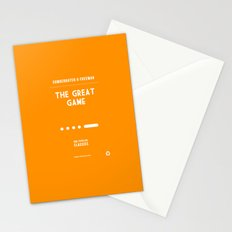 BBC Sherlock The Great Game Minimalist Poster Stationery Cards