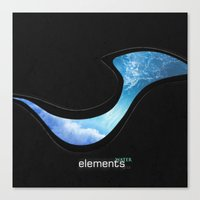 Elements | Water Canvas Print