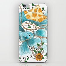 Underwater tales - the boat iPhone & iPod Skin