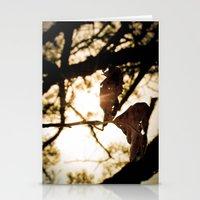 leaf art Stationery Cards
