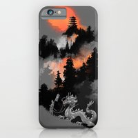 iPhone Cases featuring A samurai's life by Budi Kwan