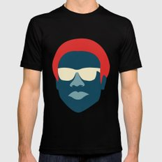Donald Mens Fitted Tee Black SMALL