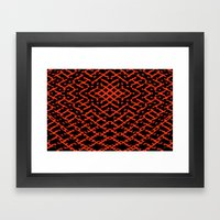 Pattern #5 Framed Art Print