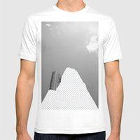 Vacant Architecture Mens Fitted Tee White SMALL