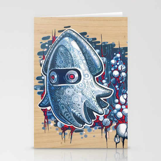 A GHOST IS BORN Stationery Card