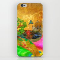 Let Color Bring You Smil… iPhone & iPod Skin