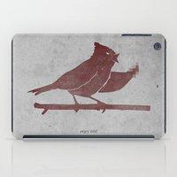 The Bird Is The F-word iPad Case