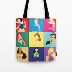 Original Princesses w/ Rapunzel Tote Bag