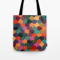 Abstract Colors In Pink,… Tote Bag