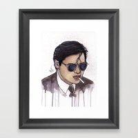 MARK GOR Framed Art Print
