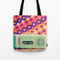 Retro Radio Tote Bag