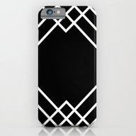 Geometric Black iPhone 6 Slim Case