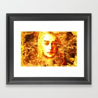 Bride Of Fire V2 T Shirt Framed Art Print