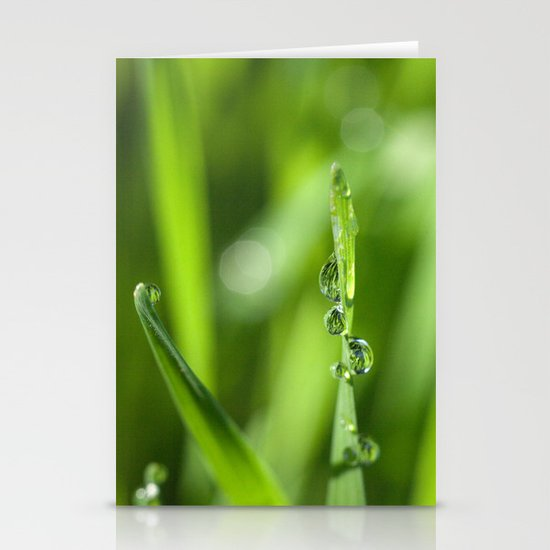 Morning dew 8548 Stationery Card