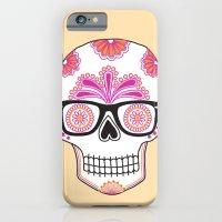 sugar skull #bonethug iPhone 6 Slim Case