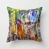 Crying Throw Pillow