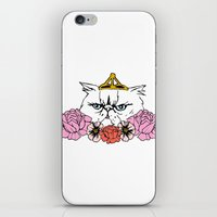 Queen Cat iPhone & iPod Skin