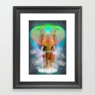 Nothing Is So Strong As … Framed Art Print