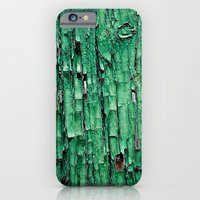 iPhone & iPod Case featuring Green Paint by Shy Photog