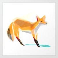 Felix Fox Art Print