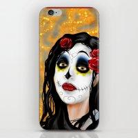 The Skull Princess iPhone & iPod Skin