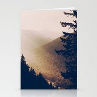 Sunrise in the Mountains  Stationery Cards