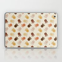 Hiii Power hand sign (remix)  Laptop & iPad Skin