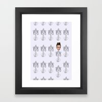 fashion is now Framed Art Print