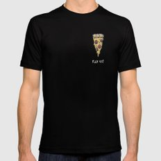 FUCK YES! Mens Fitted Tee Black SMALL