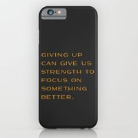 Giving Up iPhone 6 Slim Case