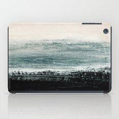 abstract minimalist landscape 3 iPad Case