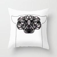 Cheetah ( Animali ) Throw Pillow