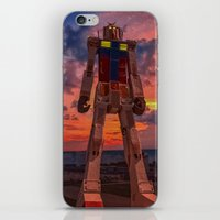 gundam for kids iPhone & iPod Skin