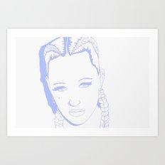 Brooke Candy II Art Print