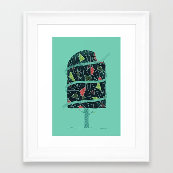 The Winter Tree Framed Art Print