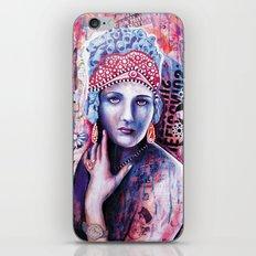 Reine de glace iPhone & iPod Skin