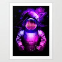 Space Sonata Art Print